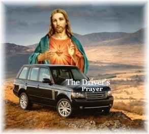 The drivers prayer