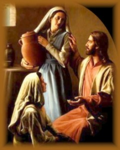 Martha and Mary with Jesus