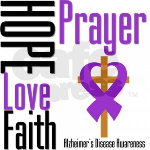 Alzheimer's Patients Prayer