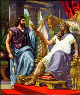 Nathan and King David