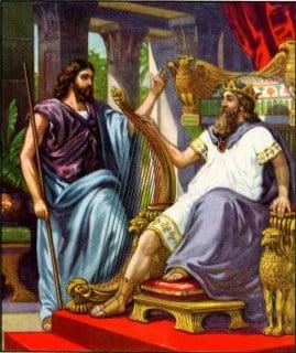 Nathan and King David