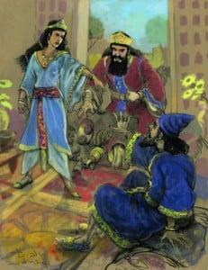 Intervene for you like Esther