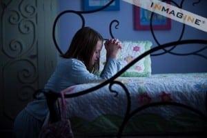 Praying before bed