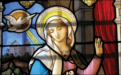 Mary's Faith : Model For The Church