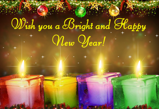 Happy New Year Greeting Card 50