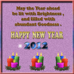 2012 New Year Greeting Cards 10