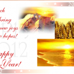 2012 New Year Greeting Cards 20