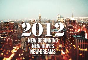 2012 A New Beginning
