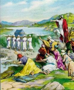Crossing The River Jordan