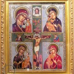 Crucifixion and 4 Virgins