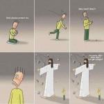 Jesus Christ Cartoon 05