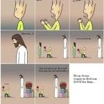 Jesus Christ Cartoon 07