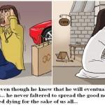 Jesus Christ Cartoon 08