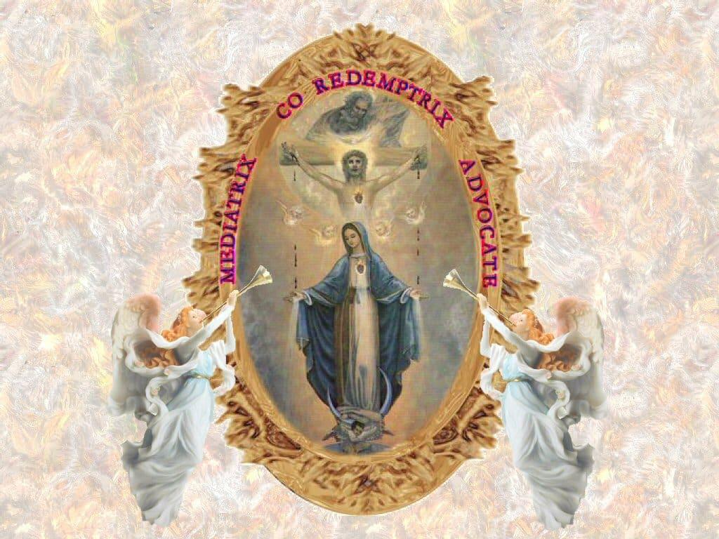 Ever Helping Mother Mary Framed Mediatrix