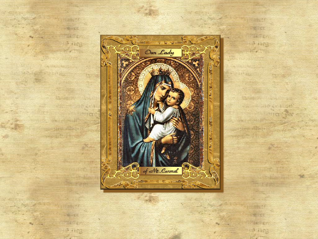 Mother Mary Framed Pictures