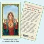 Novena Immaculate Heart Mary