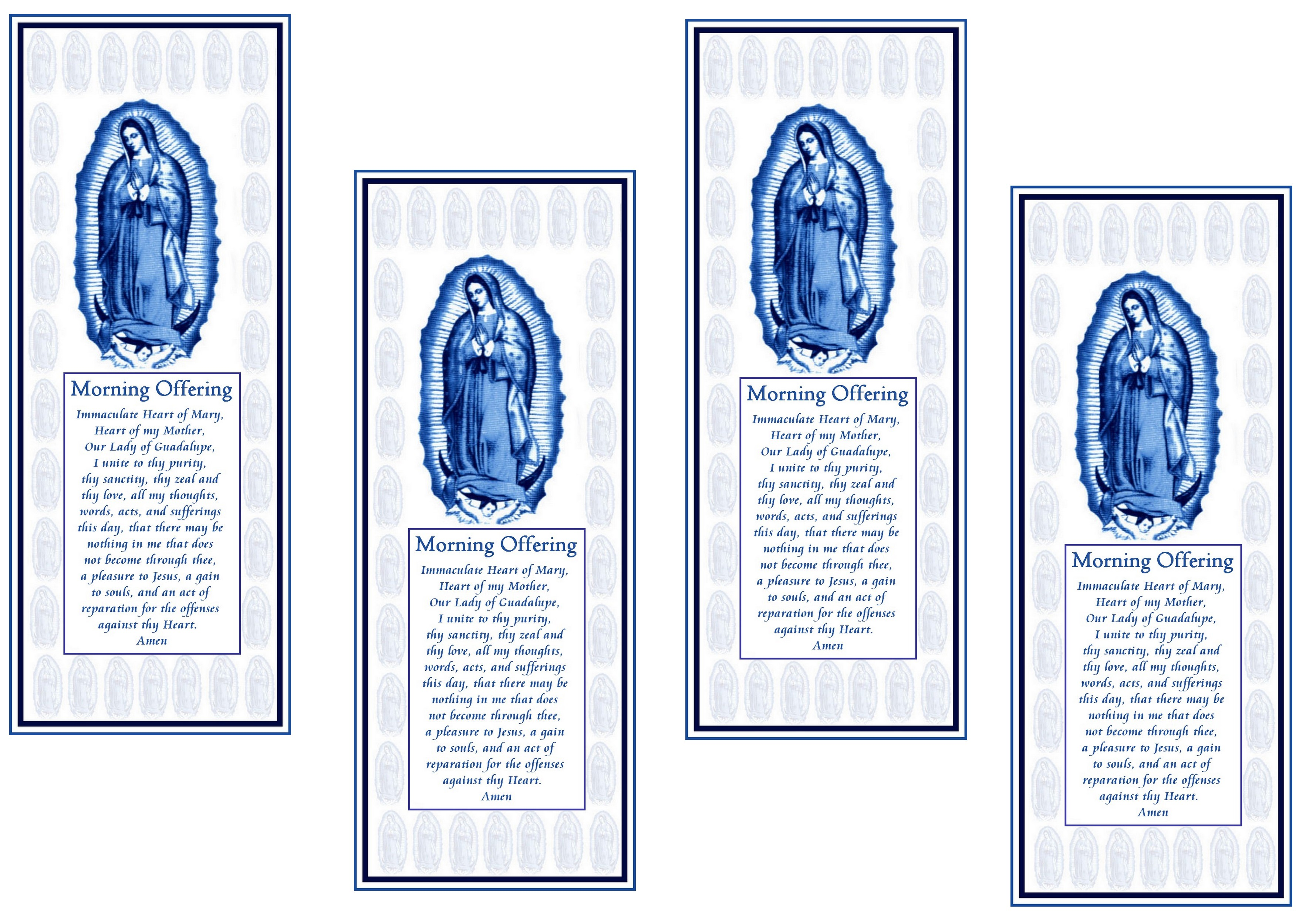 It is an image of Mesmerizing Free Printable Catholic Prayer Cards