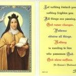 Prayer of St Teresa