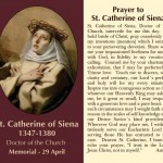 Prayer to St Catherine