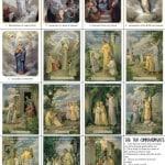 Rosary Prayer Cards