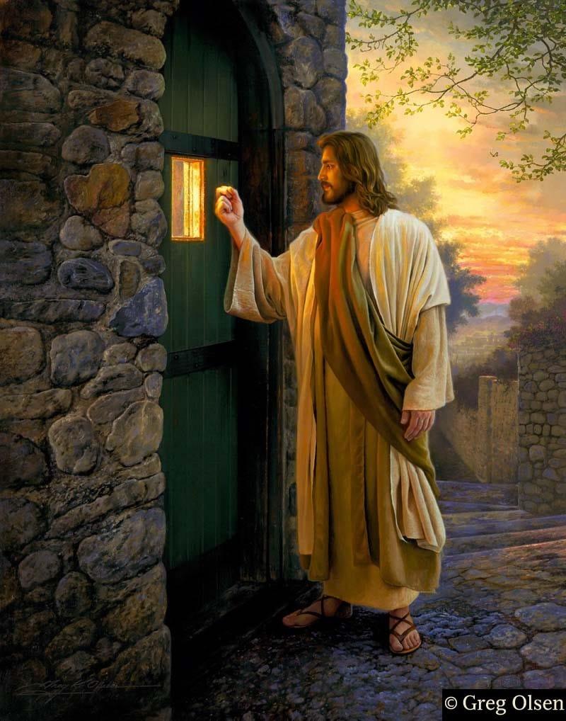 Greg olsen paintings for Jesus a porta