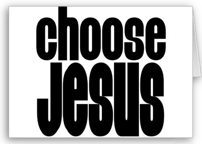 Please Do Choose Jesus