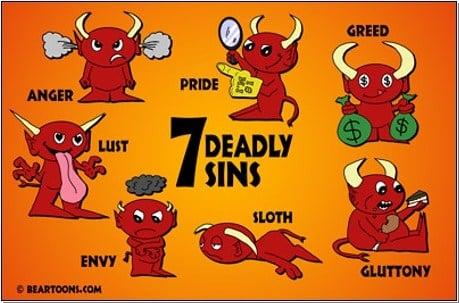 Satan Lives In Our Sins