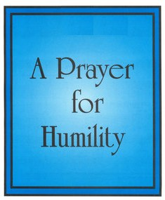 Prayers For Humility