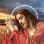 Jesus Christ Praying Wallpapers 08