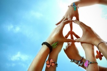 The World Needs Peace And Love