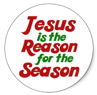 Jesus is the reason for Christmas Season
