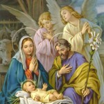 Joseph and Mary with Baby