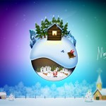 Merry Christmas Wallpaper 07
