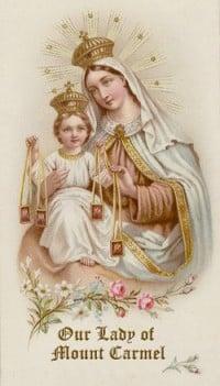 Flos Carmeli Prayer