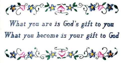 Poem : God's Gifts