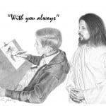 Jesus with Artist