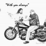 Jesus with Biker