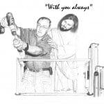 Jesus with Builder