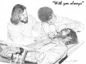 Jesus with Dentist