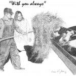Jesus with Farmer