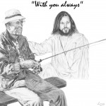 Jesus with Fisherman