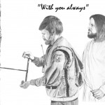 Jesus with Forest Ranger