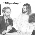 Jesus with Insurance Man