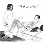 Jesus with Medical Student