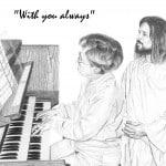 Jesus with Organist