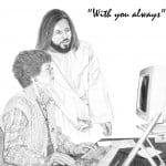 Jesus with Secretary
