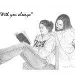 Jesus with Student