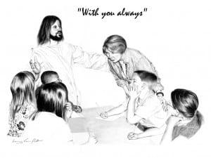 Jesus with Teacher