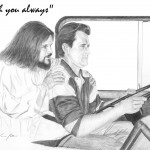 Jesus with Trucker