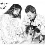 Jesus with Vet